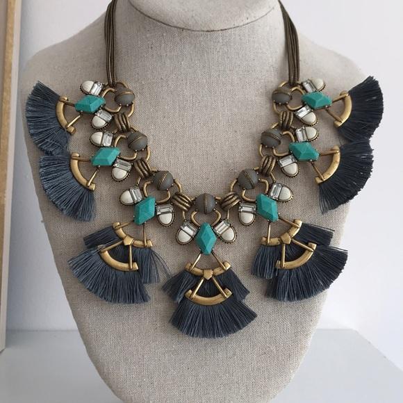 Stella & Dot Jewelry - Stella & Dot Lotus Tassel Necklace